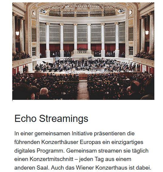 Wiener Konzerthaus_echo streaming